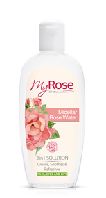 Мицелларная розовая вода